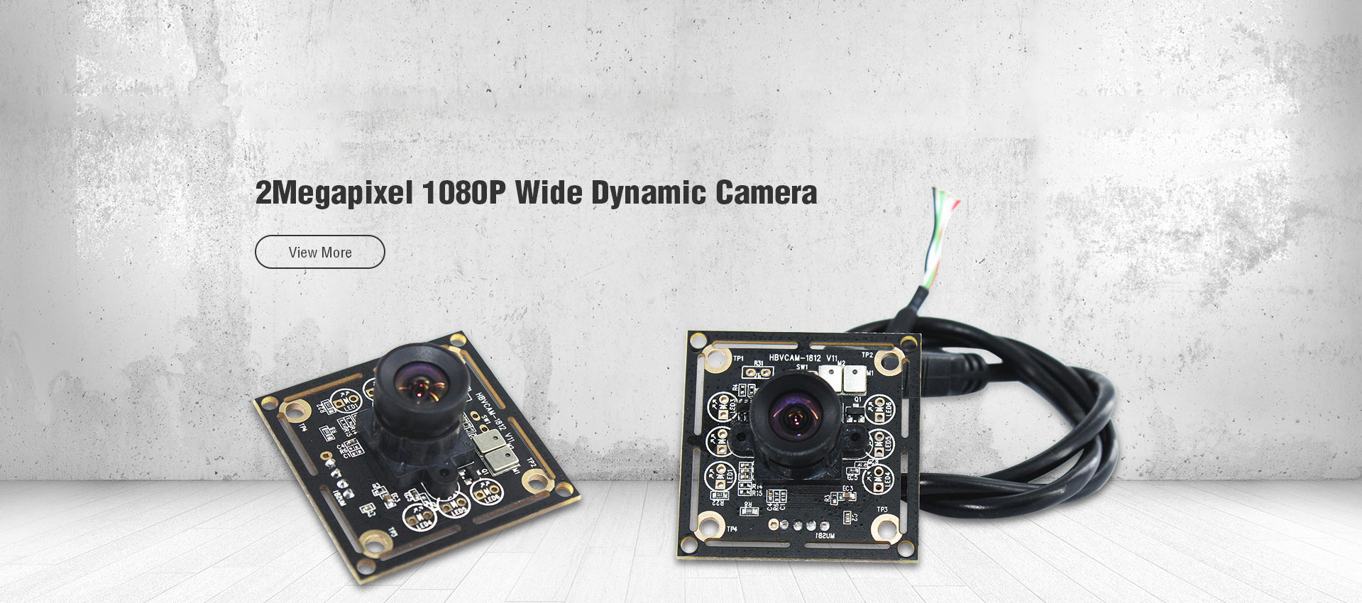 2Megapixel 1080P Wide Dynamic Camera