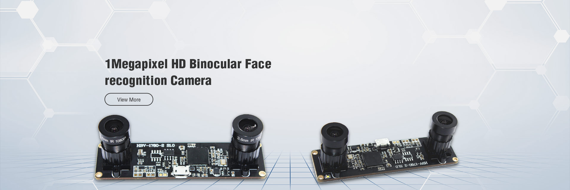 1Megapixel HD Binocular Face recognition Camera