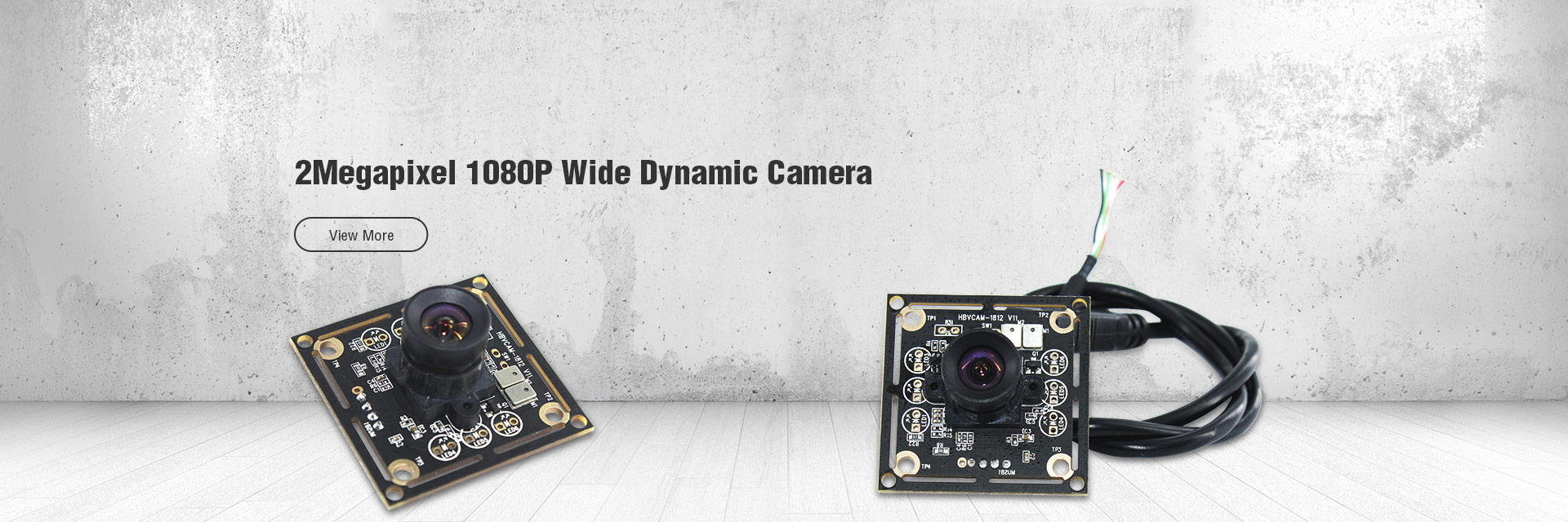 2Megapixel 1080P Wide Dynamic Camera