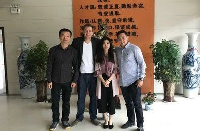 Turkey customer visit our company