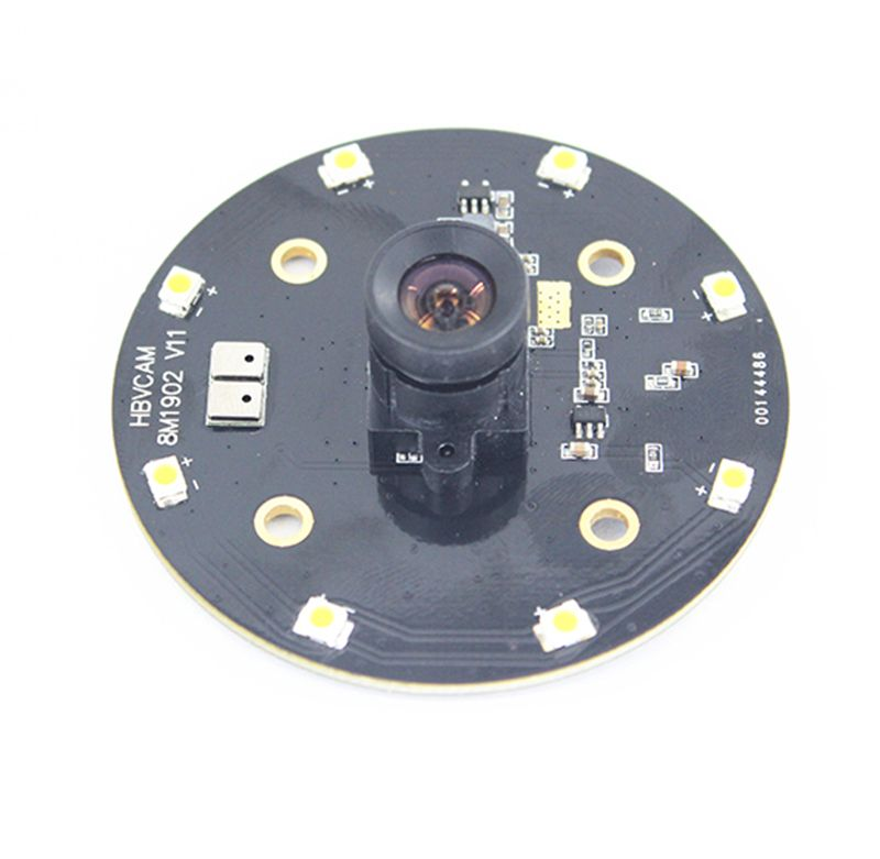 Sony IMX179 8 Megapixel circular cctv camera module