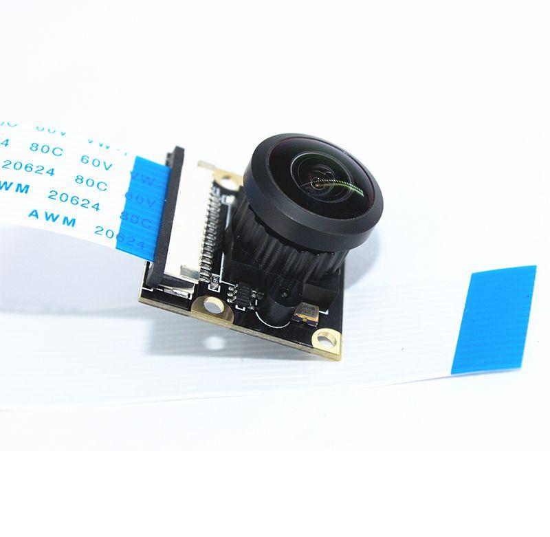 5MP NOIR Raspberry Pi  Camera module 222 Degree Panoramic Wide Angle Fish-eye Surveillance Lenses 1080p