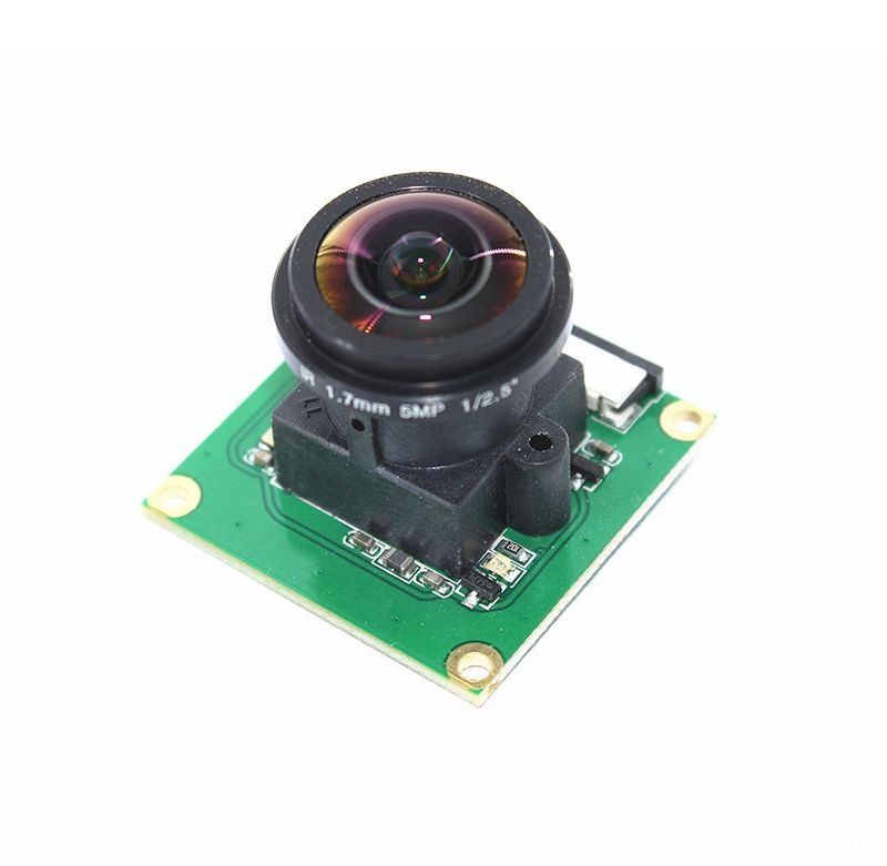Raspberry Pi Camera Module OV5647 5MP 175 Degree Wide Angle Fisheye Lens Raspberry Pi 3/2 Model B Camera Module
