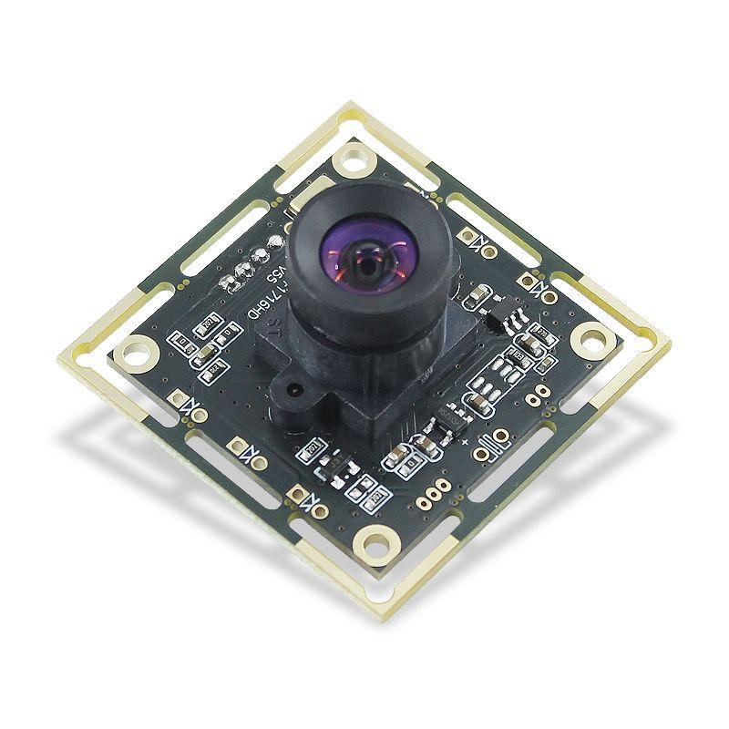 FOV 100 degree distortionless lens OV2710 HD CMOS camera module