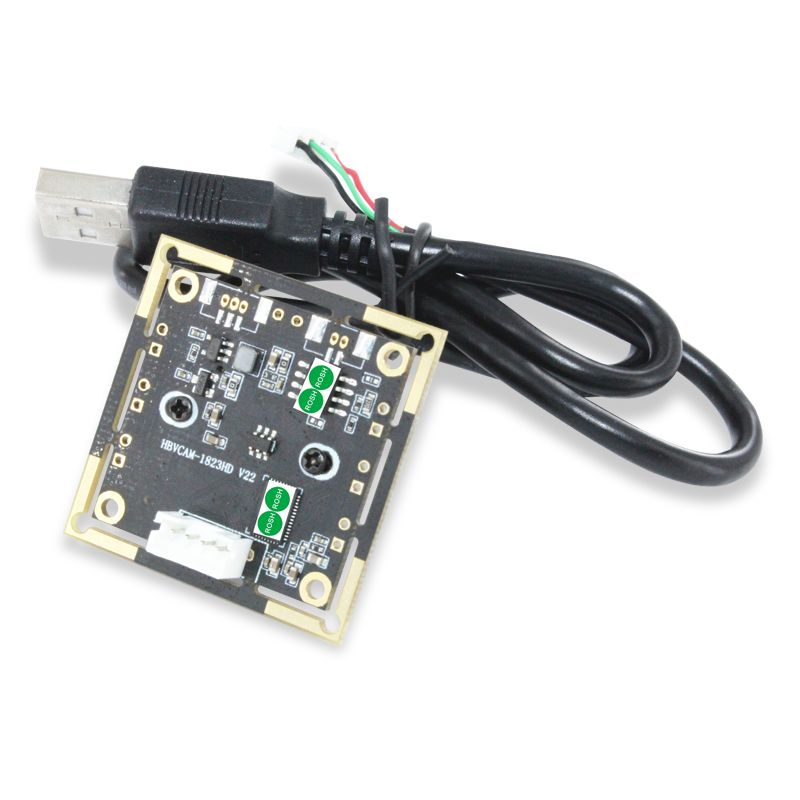 2MP HD Wide Dynamic Range HM2131 (1/2.7) sensor CMOS USB Camera module with distortionless 100 degree lens